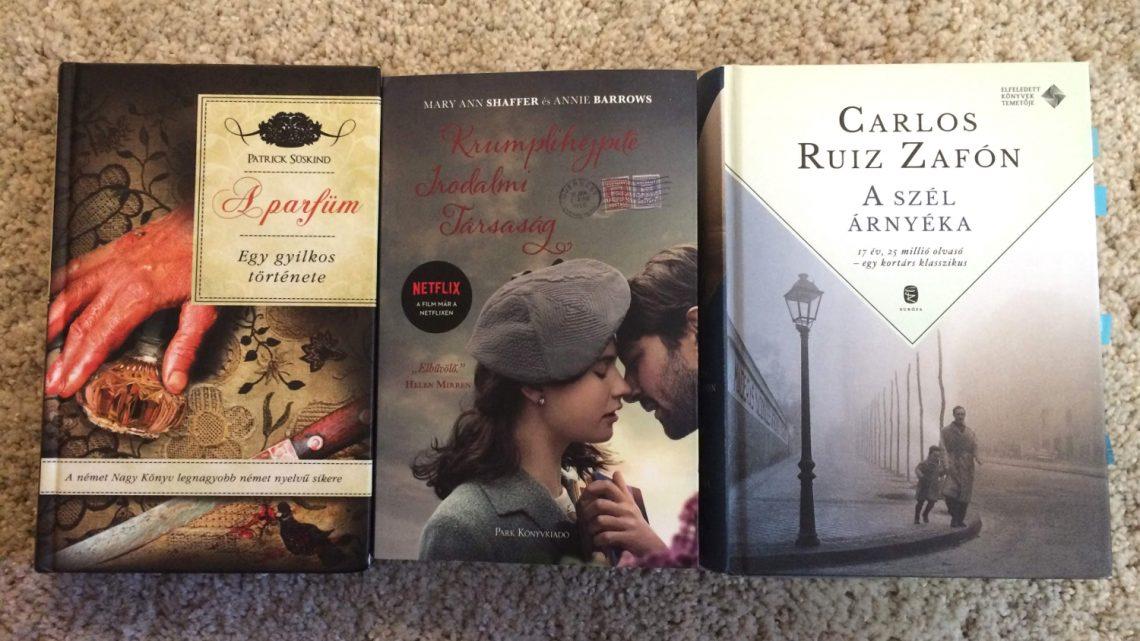 Három könyv, megannyi gyilkosság…